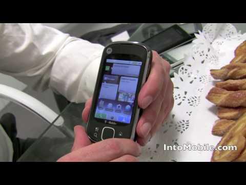 Hands-on the Motorola CLIQ XT