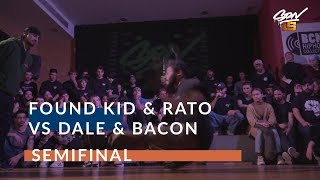 Dale & Bacon VS Found Kid & Rato |  Półfinał - SON15 2019