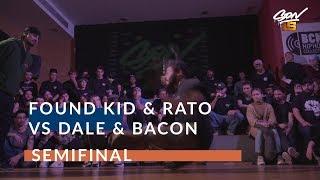 Dale & Bacon VS Found Kid & Rato |  Półfinał - SON15 2019