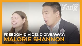 Freedom Dividend Giveaway | Malorie Shannon