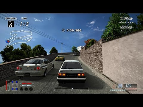 Gran Turismo 4 - TRUENO GT-APEX (AE86) Shuichi Shigeno '00 (HYBRID) PS2 Gameplay HD