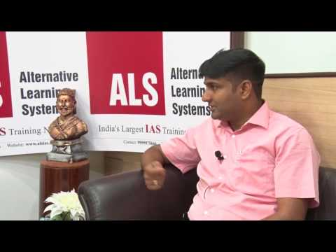 Success Speaks : Interview with Mallika Sudhir IAS 2016 (AIR 26) .
