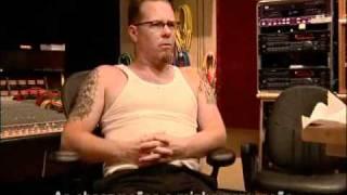 Metallica receiving the news that Dee Dee Ramone died (legendado)