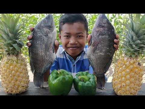 Delicious Fish Cooking With Pineapple / Fish Pineapple Recipe / Kdeb Cooking