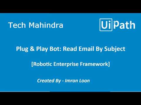Plug N Play - Read Email By Subject | Devpost