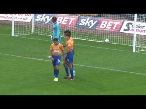 GOALS: Stags 2-2 Middlesbrough, 19July2017