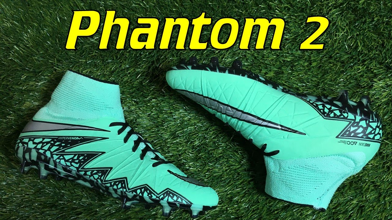 Nike Hypervenom Phantom 2 Green Glow (Metal Flash Pack) - Review + On Feet  - YouTube 523e3bae6e