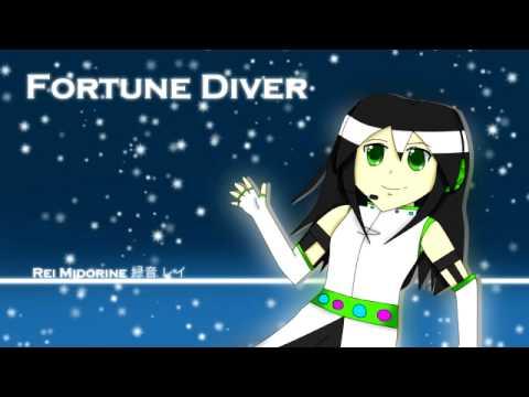 [UTAU] Fortune Diver [Rei Midorine]