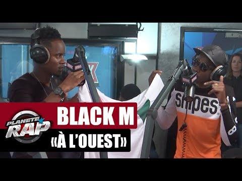 """Black M """"A l'ouest"""" ft. MHD en live #PlanèteRap"""