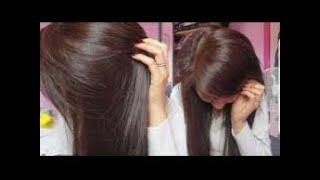 طريقة صبغ الشعر بني شوكلاته بمكونات طبيعيه ونتيجة مبهرة