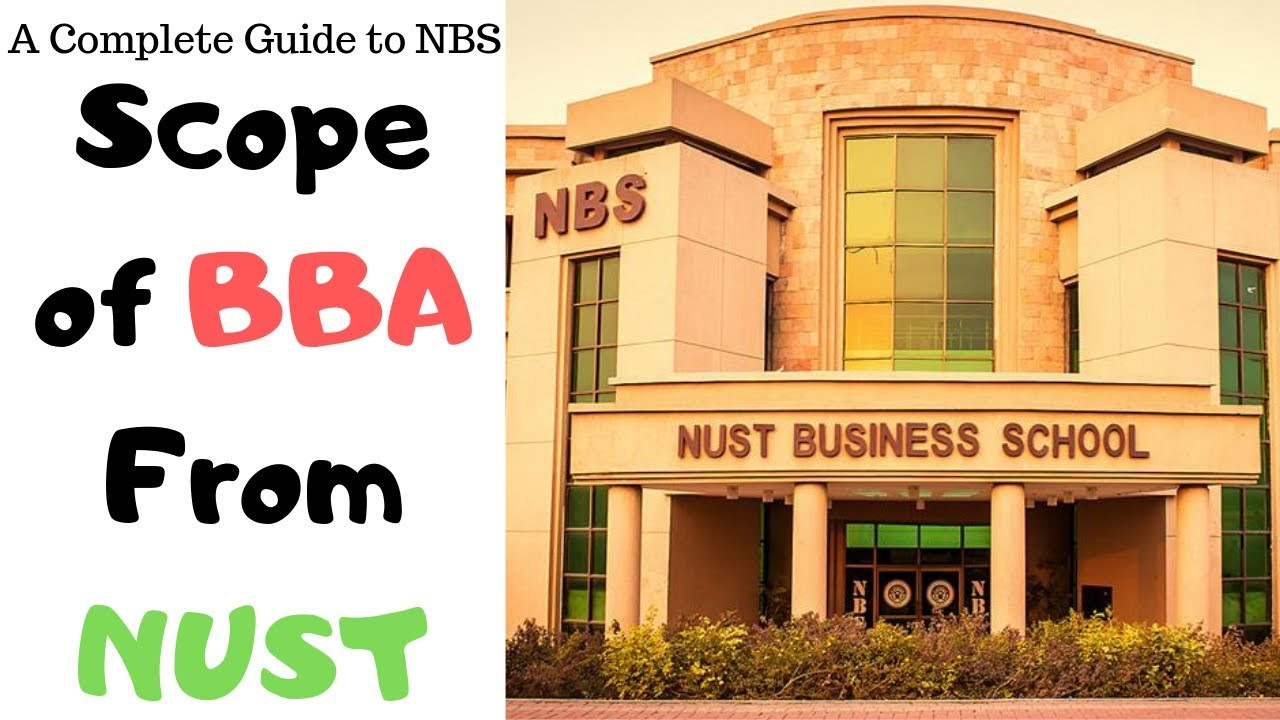 Test Pattern, Minimum Aggregate & Scope for BBA from NUST BUSINESS SCHOOL