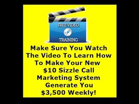 Your $10 Sizzle Call Marketing System Landing Page Is Ready