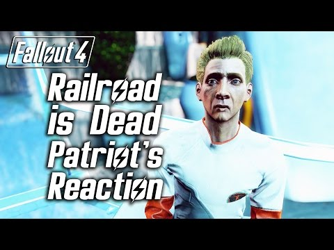 Fallout 4 - Railroad is Dead - The Patriot's Reaction
