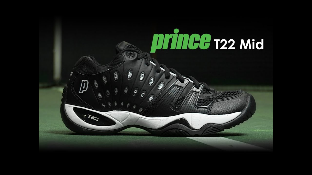Prince T22 Mid Shoe Review - YouTube 138c5cb8580