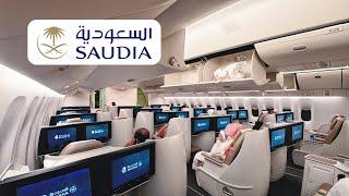 SAUDIA 777-300ER Business Class Madinah to Riyadh | الخطوط السعودية درجة الأعمال المدينة الرياض