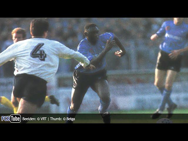 1991-1992 - Jupiler Pro League - 27. Club Brugge - Sporting Lokeren 3-1