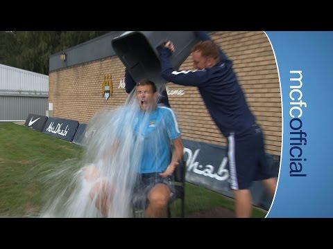 EDIN DZEKO | ALS Ice Bucket Challenge