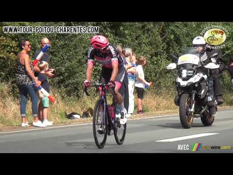 Résumé première étape Tour Poitou-Charentes 2021 : Pons - Parthenay