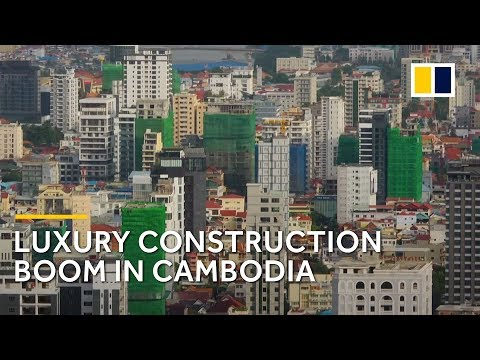Wealthy Chinese drive Cambodia's luxury property boom