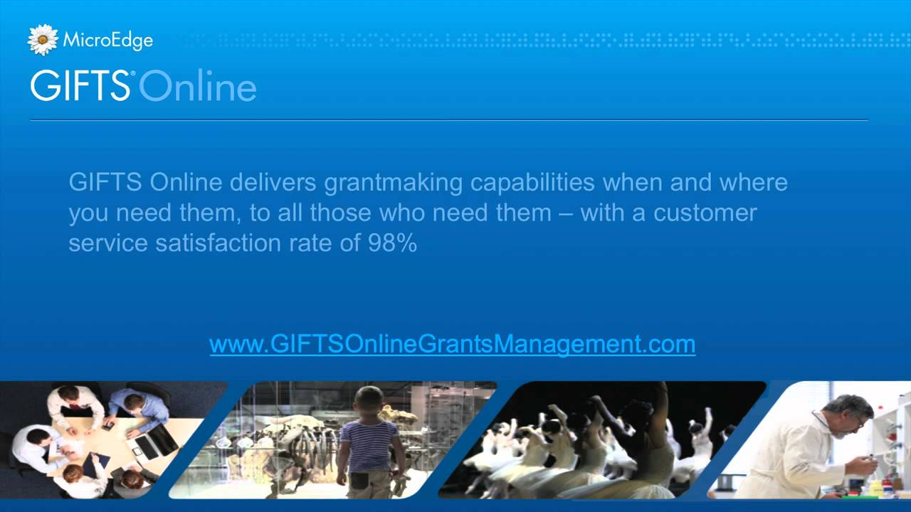 GIFTS Online Grants Software MicroEdge