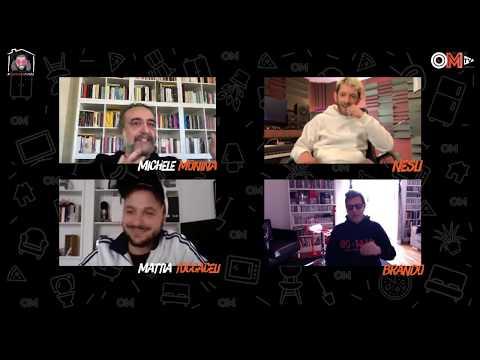 Nesli, Brando e Bellitto live con Michele Monina   #iorestoacasa Monina ep. 9