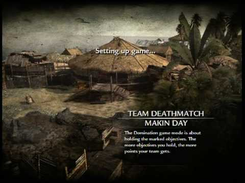 NEW CALL OF DUTY: WORLD AT WAR MULTIPLAYER MAP! MAKIN DAYTIME!