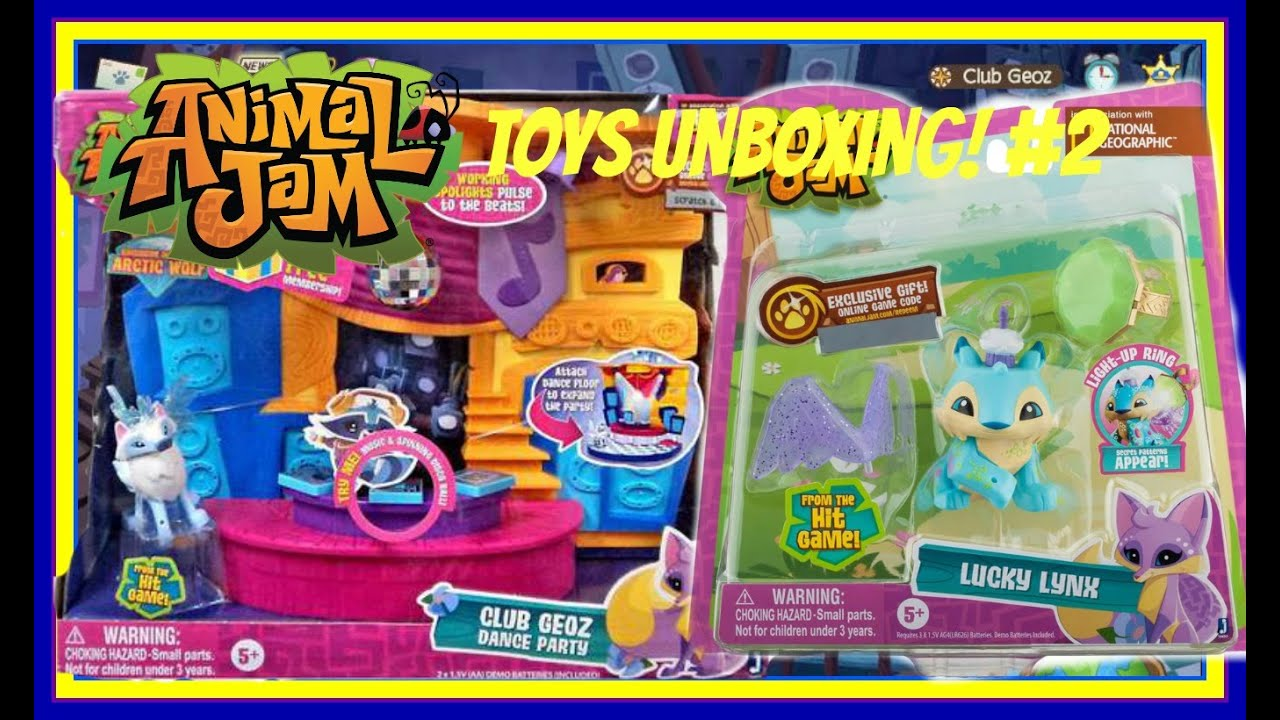 Animal Jam Toys Unboxing! #2 - YouTube