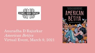 Book Launch of American Betiya at Boswell Books