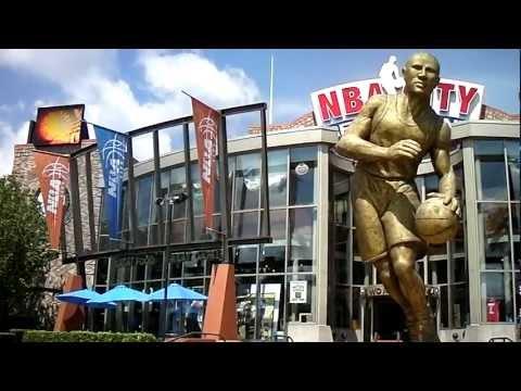 NBA City At Universal Orlando CityWalk By Jonfromqueens