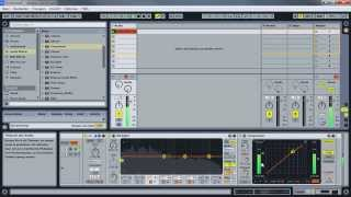 Mixing & Mastering in Ableton Live 9 - Audio Effekt Rack - M/S Bearbeitung - Tutorial Deutsch/German