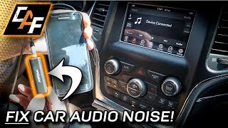 BUZZ, WHINE, HISS? How to FIX Car Audio Noise!