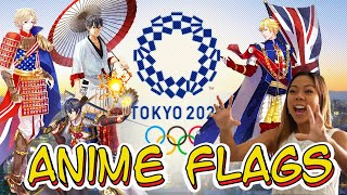 Every Country's Flag as an Anime Character   2020 Tokyo Olympics