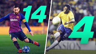 TOP 15 Players wİth the Most Free Kick Goals | Oh My Goal
