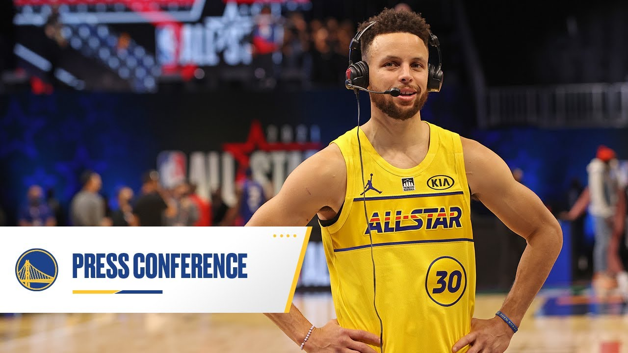 Stephen Curry Discusses His 3-Point Contest Victory and His Performance at NBA All-Star