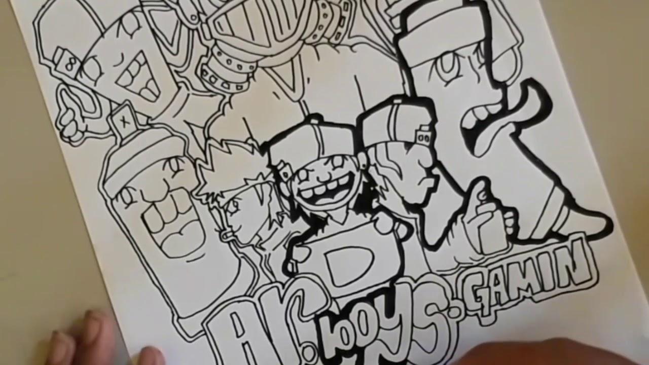 Gambar grafiti keren  YouTube