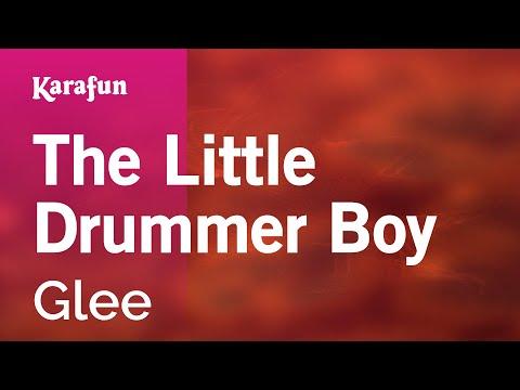 The Little Drummer Boy - Glee   Karaoke Version   KaraFun