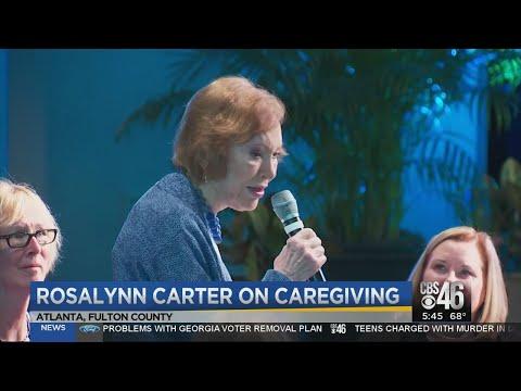 Rosalynn Carter on caregiving