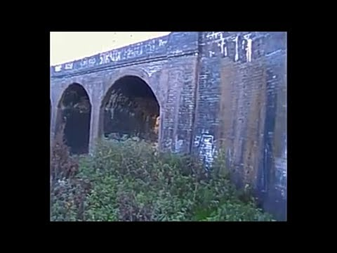 Magnet fishing Victorian Railway viaduct. Lots of train finds