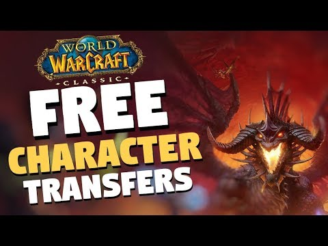Classic WoW Free Character Transfers For EU & US Realms | World Of Warcraft Classic