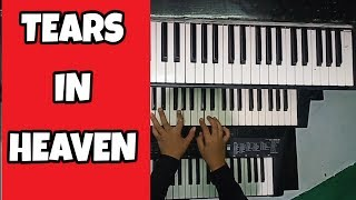 TEARS IN HEAVEN BY ERIC CLAPTON #pianocover