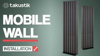 t.akustik - INSTALLATION - Mobile Wall