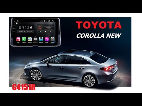 Обзор ГУ G4151R для TOYOTA Corolla 2019 г.в.