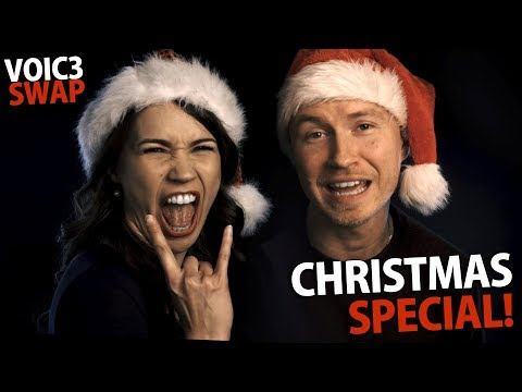 9 Funny Christmas Songs | Ventriloquist Voice Swap!