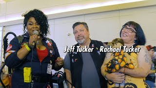 Interview with the famous Tucker Family at Monsterpalooza