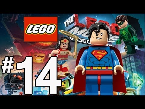 The Lego Movie Videogame Walkthrough - PART 14 - Superman ...