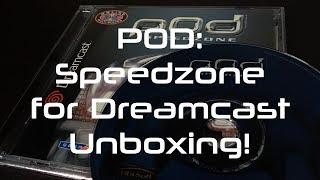 POD: Speedzone for Dreamcast Unboxing