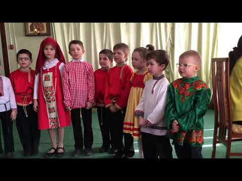 Пасхальный праздник в Троицком соборе г. Щелково. Видео 5