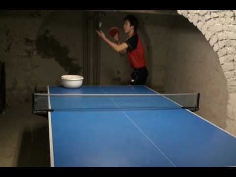How To Make : Corkscrew Spin Serve + Sidespin Serve   YouTube