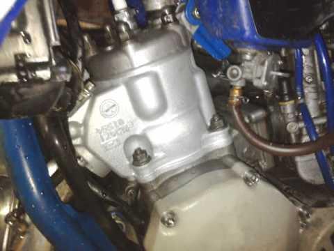 Yamaha yz 125 - 1999 - update - steel resleeve/top end rebuild - YouTube