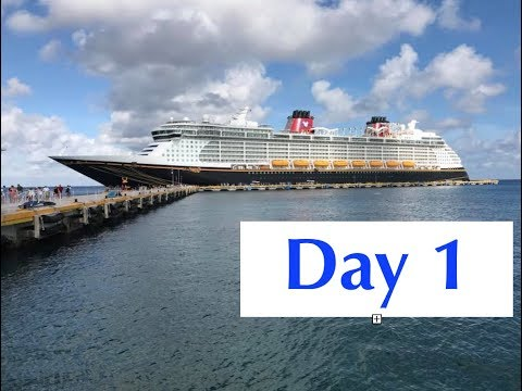 Disney Cruise (Fantasy): Day 1